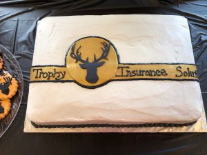 The Trophy Insurance Cake